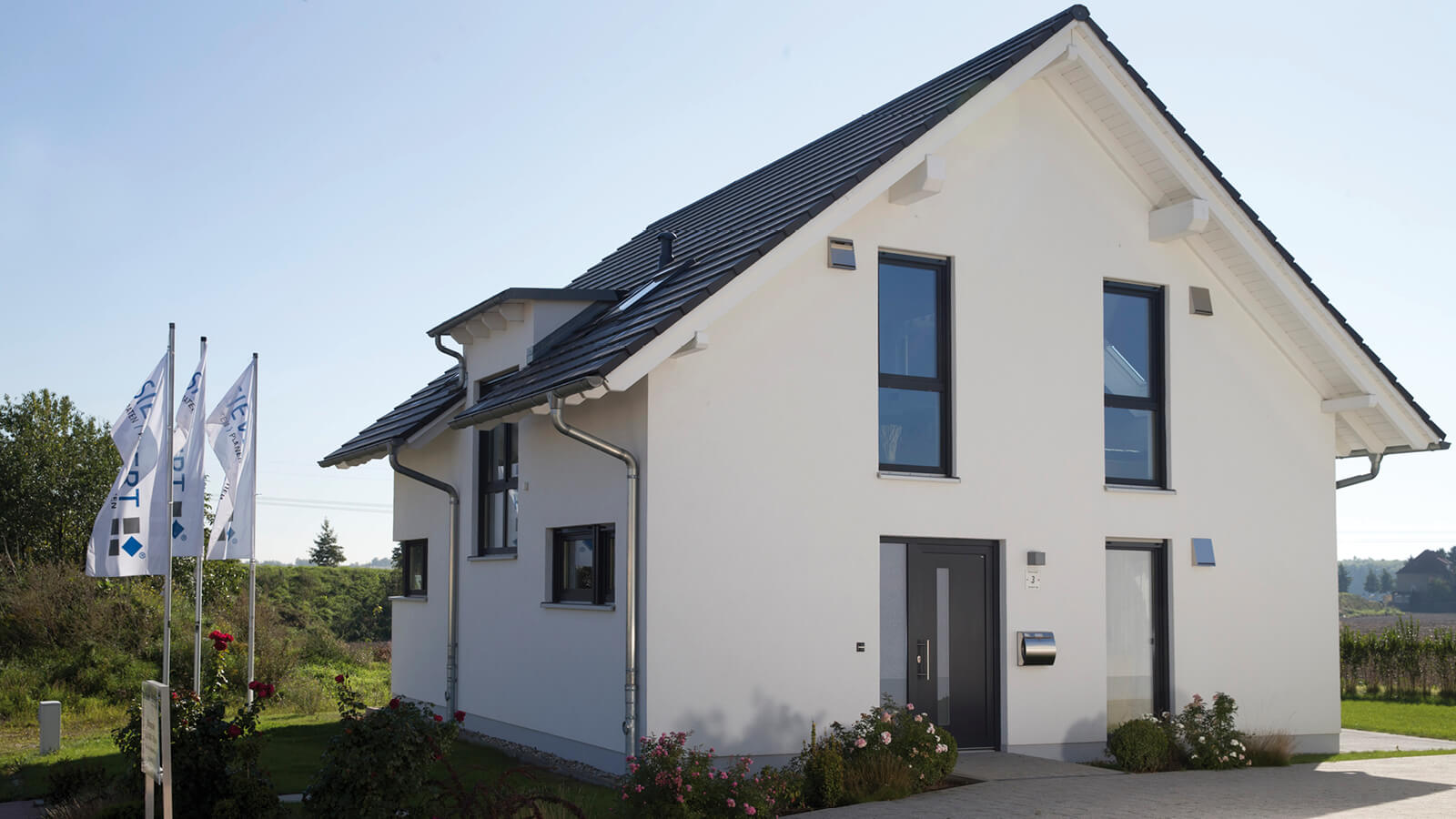 Musterhaus r ckmarsdorf siewert hausbau for Haus bauen leipzig