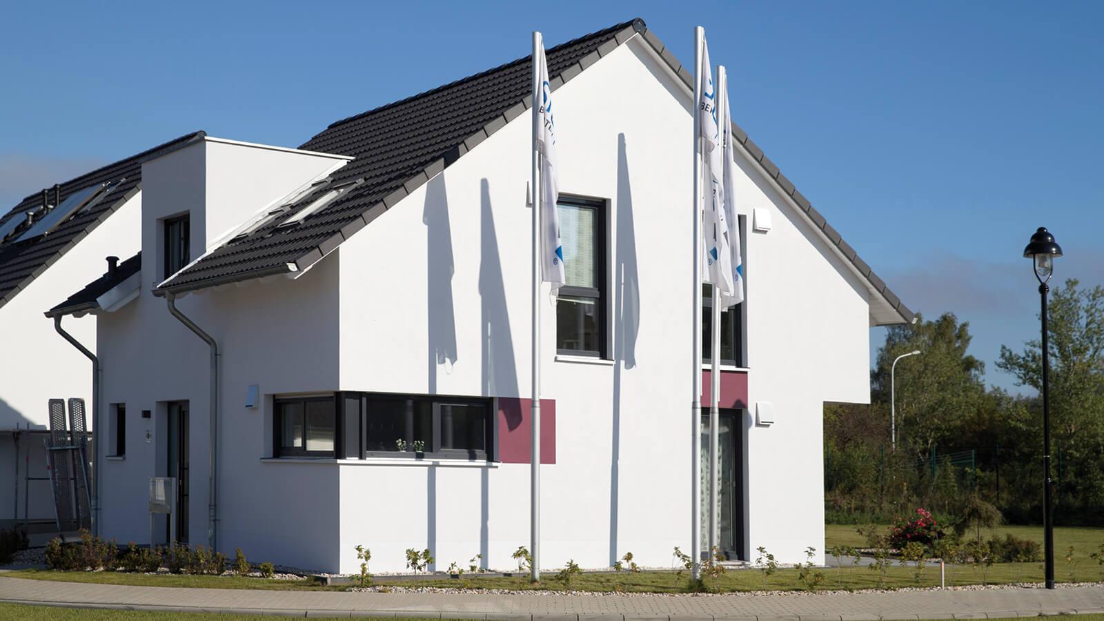 Musterhaus waldstra enviertel siewert hausbau for Haus bauen 2016