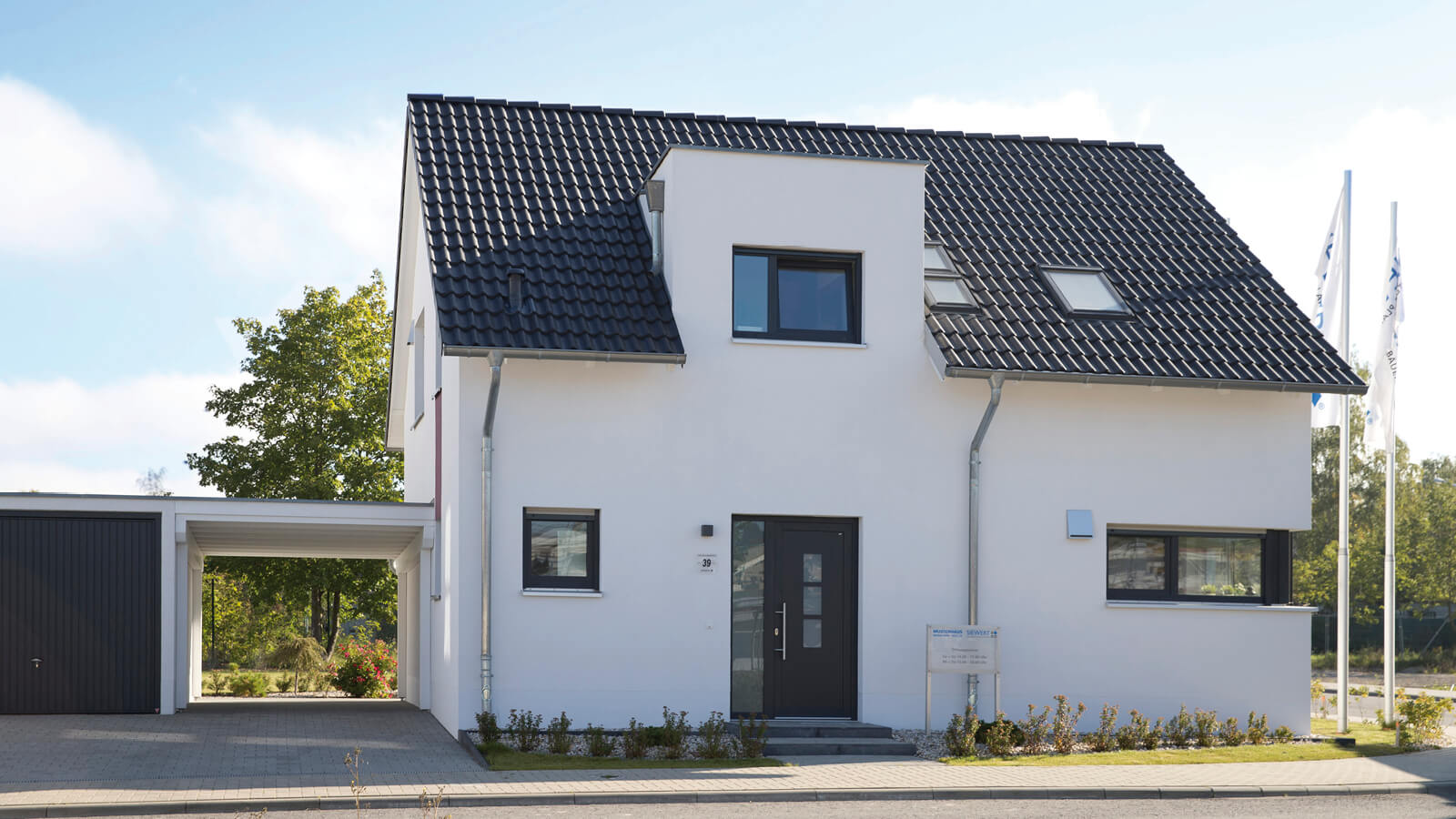 Musterhaus waldstra enviertel siewert hausbau for Haus bauen muster