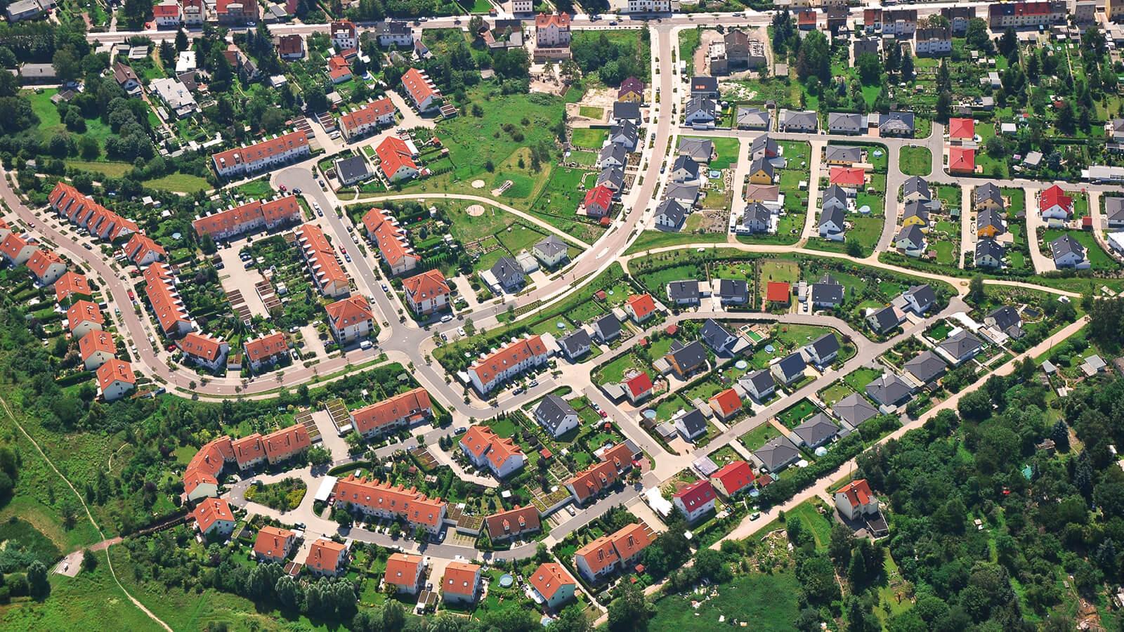 Siewert Halle Grundstücke Luftbild